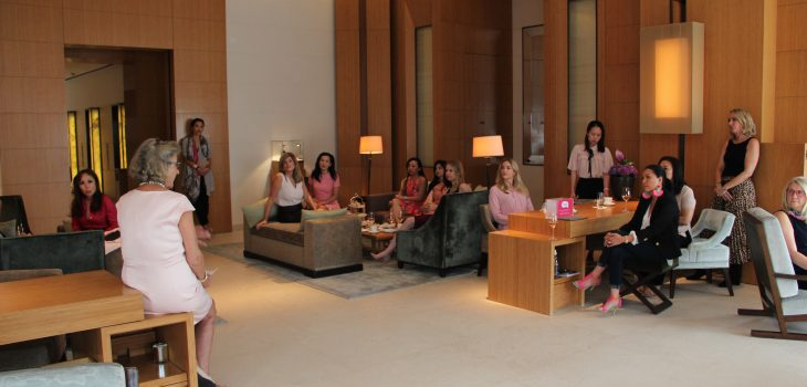 Luxe Pink Afternoon Tea in support of women's breast health